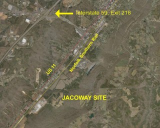 Norfolk Southern Rail - Jacoway Industrial Site
