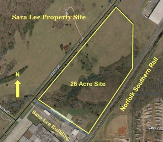 Norfolk Southern Rail - Sara Lee Property Site