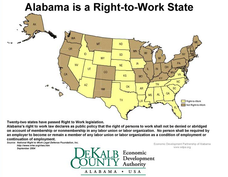 Right to Work State